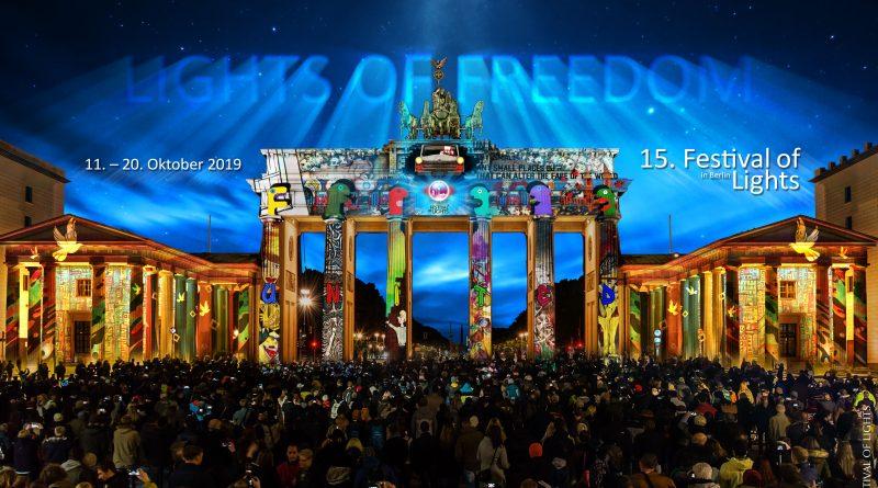"""Lights of Freedom"" vom 11. bis 20. Oktober 2019"